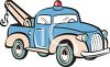 Cartoon tow truck clipart