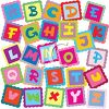 letter blocks to learn all the letters of the alphabet clipart