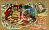A feast of fruit and vegetables for Thanksgiving clipart