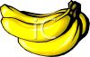 picture of a bunch of bananas in a vector clip art illustration clipart