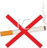 picture of a no smoking sign in a vector clip art illustration clipart