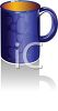 picture of a coffee cup in a vector clip art illustration clipart