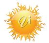 Clip art image of the sun shining. clipart