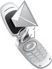 Cell Phone Sending a Text Message clipart