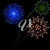 Fireworks Display clipart