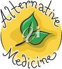 Herbs in an Alternative Medicine Sign clipart