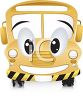 Smiling School Bus clipart