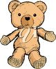 Old Teddy Bear clipart
