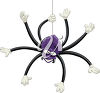 Spider Hanging Upside Down clipart