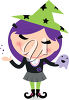 Smiling Witch clipart