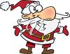 Cartoon Santa Claus clipart