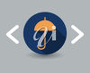 Umbrella Icon clipart