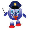 Police Smiley clipart