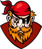 A pirate clipart