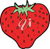 A strawberry clipart
