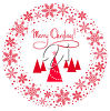 A christmas greeting clipart