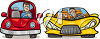 Two cars clipart