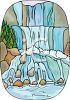 A waterfall clipart