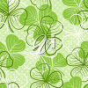 A shamrock background clipart