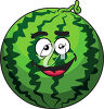 A watermelon clipart