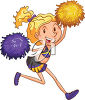 cheerleader image