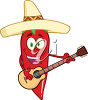 A mexican chili clipart
