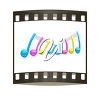 Music and film clipart