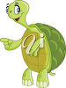 A turtle clipart
