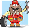 A mechanic clipart