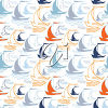 A background with sailboats clipart