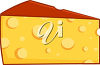 Clipart Illustration of Cheese