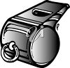 A toy whistle clipart