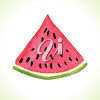 A slice of melon clipart