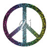 A symbol for peace clipart