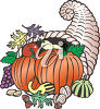 A horn of plenty clipart