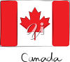 A flag for canada clipart