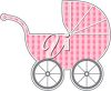 A child's buggy clipart