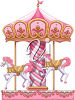 Clipart Illustration of a Carousel