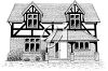 Clipart Illustration of a House