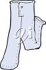 A pair of jeans clipart