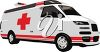 An medical van clipart