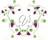 A grapevine frame clipart