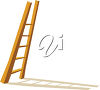 A ladder clipart