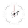 Two o'clock clipart