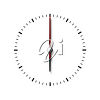 Six o'clock clipart