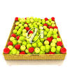 Apples in a basket clipart