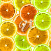A background of citrus fruit clipart