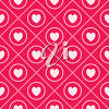 A background of heart clipart