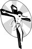 Christ on the cross clipart