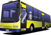 A city bus clipart